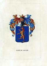 Araldica stemma araldico della famiglia Elioni di Saluzzo