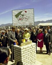 President John F. Kennedy and Jackie at housing project Colombia New 8x10 Photo