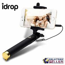 idrop Selfie Stick Stretchable Extendable Folding 270° Rotating Wired For Smart