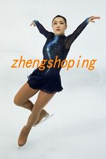 Premiere Ice Figure Skating Dress/Competition Skirted Twirling Costume 8907