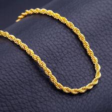 4775ee3a6b0c Cadena triple hilo con oro amarillo laminado 18 kt