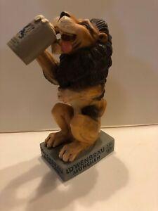 Lowenbrau Lion Back bar Statue of Heavy Molded Plastic~ BW186
