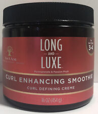 As I Am Long And Luxe Curl Enhancing Smoothie Curl Defining Creme 16 oz. Sealed
