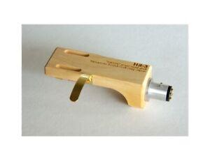 """Yamamoto HS-3 Headshell in legno di bosso """"Tsumi"""""""