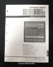 Original Yamaha / EMX 2150 2200 2300 Powered Mixer / Service Manual