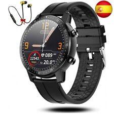 Smartwatch Reloj Inteligente Hombre Mujer Niños Monitor Pulso Negro (Negro..)