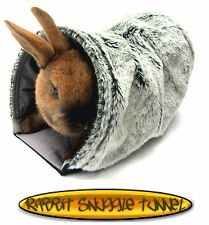 Rabbit Kitten Snuggle Bed Hutch Cosy Warm Fury Bed