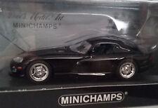 Dodge Viper Coupe 1993 - Black - Noire - 1/43 Die cast car Voiture miniature