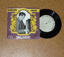 Single Scarlatti Sonates Emile Guillels Piano Chant du Monde LDY 8184 France