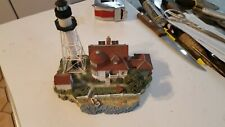 Harbour Lights Lighthouse Coney Island New York #534 Society Exclusive Signed
