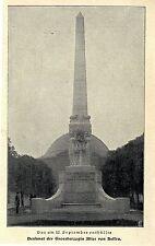 Il 11. Sept. rivelato monumento MIS. duchessa Alice di Assia immagine documento 1902