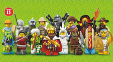 LEGO (71008) Series 13 Minifigures - Complete Set of 16 - New