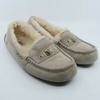 UGG Ansley Chunky Crystal Lined Slipper Ash 1007713 Women's Size 10