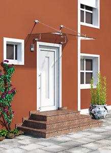 Glasvordach Sicherheitsglas Vordächer Haustürvordach (I-Serie)