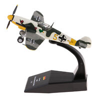 1/72 Scale Bf-109 / Me-109 Fighter Plane Diecast Metal Model & Stand