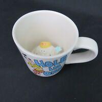 Funny Golf Coffee Mug Cup Hole in One Golf Ball Character in Bottom Prank Joke