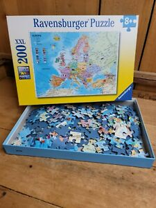 Ravensburger Political Map of Europe Puzzle 100XXL 8+ 2017 Ed 128372 Germany