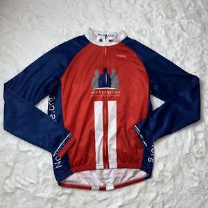 Primal Mens M Polyester Cycling  Long Sleeve Jacket No Vet Alone