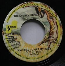 Rock Nm! 45 The Everly Bros. - I'M Here To Get My Baby Out Of Jail / Lightning E