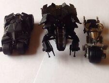 3pcs Set Batman Batmobile Collection Mini Car (new In Package). U.S. SELLER.