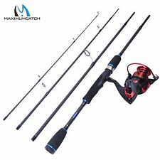 "6'9"" Spinning Rod Spinning Combo Carbon Fishing Rod with X2000 Spinning Reel"