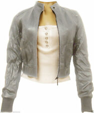 Faux Leather Biker Jackets for Women