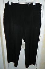 Dalia Poliéster Vestido Negro Pantalones Talla 20x