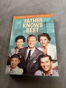 Father Knows Best - Season 3 Three (DVD, 2009, 5-Disc Set) Tv Show