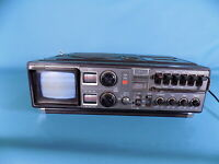 Vintage Sharp 5P 27H Radio, Cassette, Portable Tv