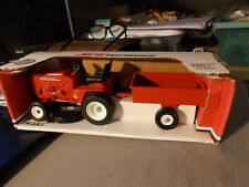 ERTL ACE HARDWARE LAWN TRACTOR AND TRAILER 1:12 IN BOX red DIECAST ITEM #97700