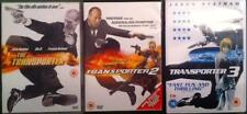 THE TRANSPORTER 1,2,3 [Trilogy] Luc Besson*Jason Statham Action DVD Set *EXC*