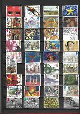UK / Verenigd Koninkrijk : 337 (!!!) verschillende gestempelde postzegels