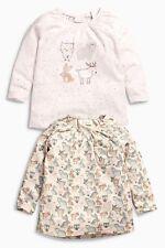 ВNWT NEXT Tunic Blouse • Pink Character T-Shirts 2pk • 100% cotton • 0-3 Months