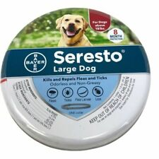 New listing Bayer Seresto Collar 8 Month Flea & Tick Protection for Large Dogs Over 18 lbs