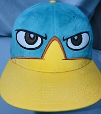 Phineas and Ferb Snapback Hat Disney Perry the Platypus Adult Cap