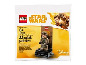 Lego Star Wars Han Solo Mudtrooper Minifigure 40300 Polybag BNIP **New**Rare**