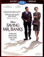 Saving Mr. Banks (Blu-ray Disc, 2014) Free Shipping