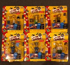 The Simpsons Playmates Series 7 COMPLETE Set of (7) Figures Carded