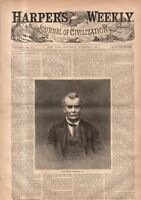 1869 Harpers Weekly October 2 -Nast College Reform;Avondale graves;Paris Theatre