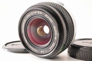【TOP MINT】OLYMPUS OM-SYSTEM ZUIKO AUTO-W 28mm F/2.8 MF Camera Lens From JAPAN