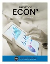 SURVEY OF ECON3 (WITH ONLINE ACCESS CODE) Micro/Macro TEXTBOOK Robert L. Sexton