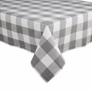 DII Cotton Buffalo Check Table Runner for Family Dinners or Gatherings, Indoor o
