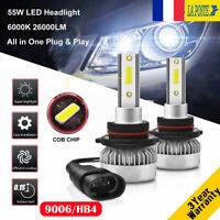 110W 26000LM 9006 HB4 LED Ampoule Voiture Feux DRL Lampe Kit Phare Blanc 6000K