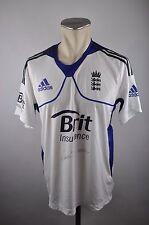 England Trikot Gr. M-L 42 44 Adidas Cricket Shirt Jersey Brit formotion