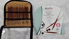 Knit Pro Cubics Timber Deluxe Interchangeable Needle Set N025613
