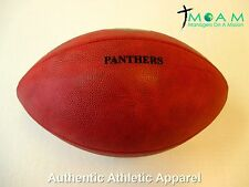 Authentic Carolina Panthers Wilson Game Football - 4 Charity!