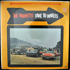 "MARKETTS ""Take To Wheels"" LP Warner Bros 1509 Surf Sealed Stereo"