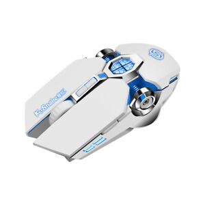 Mouse Gaming USB Wireless Mouse LED Backlit 7 Color Rechargeable For Gaming / PC