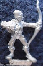 1990 Mar Elf Mm82 se 4 Marauder elfos ejército acuático Warhammer Citadel AD&D Metal