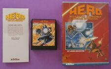 H.E.R.O. (Colecovision, 1984) Cart, Manual & Box